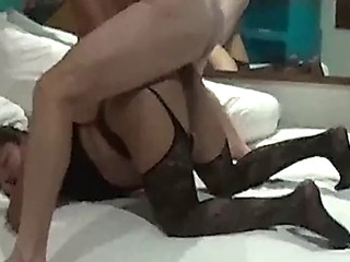 The way this babe groans when fuck in the wazoo
