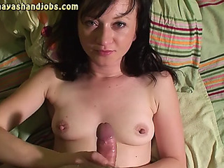 three cumshots on maya&#39s undressed love melons