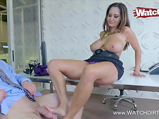 The footjob ideal mother i'd like to fuck