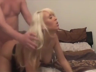 My sexy mamma takes cum in throat after sex with my most excellent ally