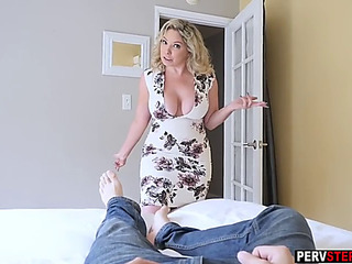 Mad mother i'd like to fuck stepmom sucks a stepsons weenie and show him