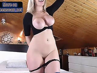 GoldenHaired whore anal sex toy 5 twenty enjoyable cummin