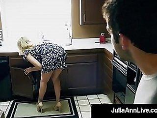 sexy Julia Ann fucked hard