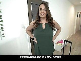PervMom - Horny Mature Milf Seduces Her Young StepNephew