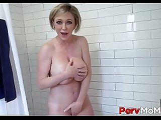 Big Ass MILF Stepmom Fucked To Orgasm By Stepson Shower POV