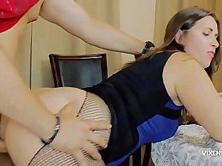 Curvy mom can't resist son's big cock
