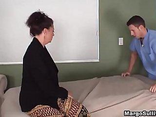 Son Gave Mom Good Time Full Body Massage