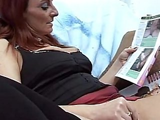 Son caught mom masturbating