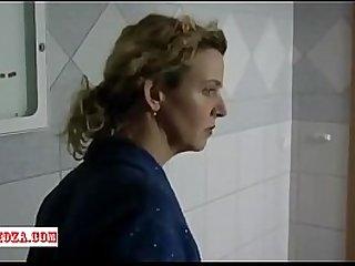 Sexy mom and son scene