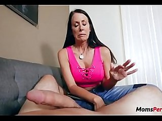 Mommy fucks naughty son WTF