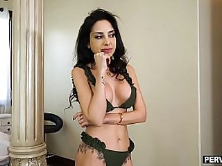 European mom roleplayed with stepson and they fucked
