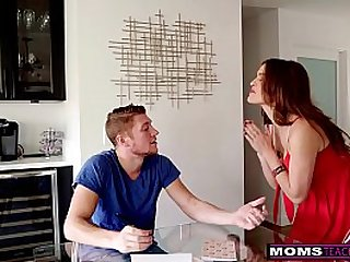 Busty MILF Krissy Lynn's Valentines Day Threesome Fun With Step Son S12:E5