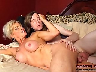 Mom anal sex with son